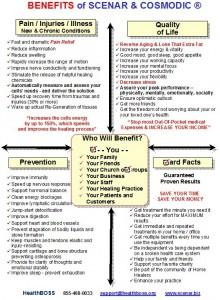 SCENAR benefits